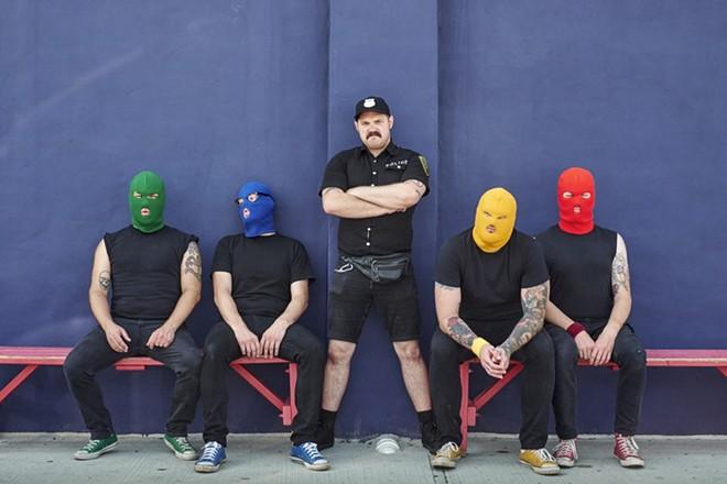 Masked Intruder will perform at the Firebird on Thursday, December 31. - PHOTO VIA FAT WRECK CHORDS