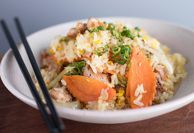 This is fried rice worth ordering. - MABEL SUEN