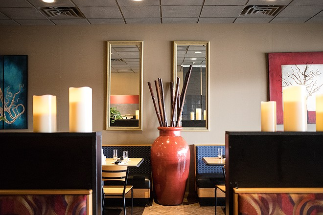 The dining room hasn't changed nearly as much as the menu. - MABEL SUEN