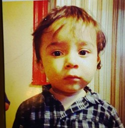 Dyland Rosa, 1, was found safe in Nashville, Tennessee after his mom faked his kidnapping, police say. - IMAGE VIA AMBER ALERT SYSTEM