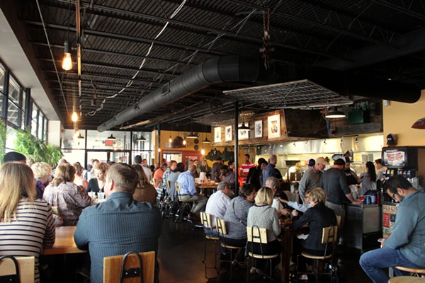 A packed lunch crowd at Southern. - PHOTO BY LAUREN MILFORD