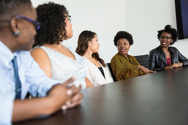 Women in tech discuss their experiences. In St. Louis, the news isn't always good. - PHOTO COURTESY OF FLICKR/WOCINTECHCHAT