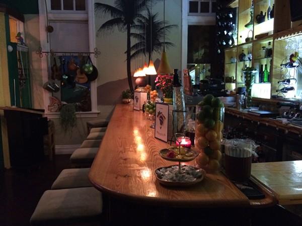 Inside Brasilia's lounge. - CHERYL BAEHR