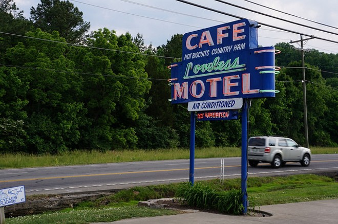 Loveless Cafe: A Nashville classic we wouldn't mind seeing here. - PHOTO COURTESY OF FLICKR/KURMAN COMMUNICATIONS