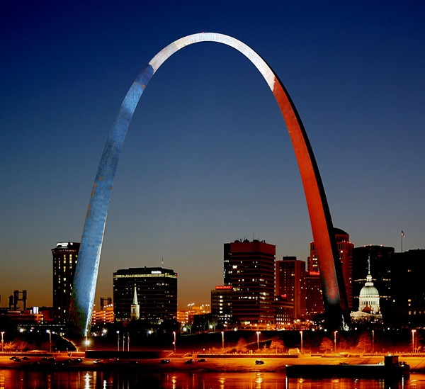 Not an actual photo of the Gateway Arch — but shouldn't it be? - PHOTO ILLUSTRATION BY ROY KASTEN