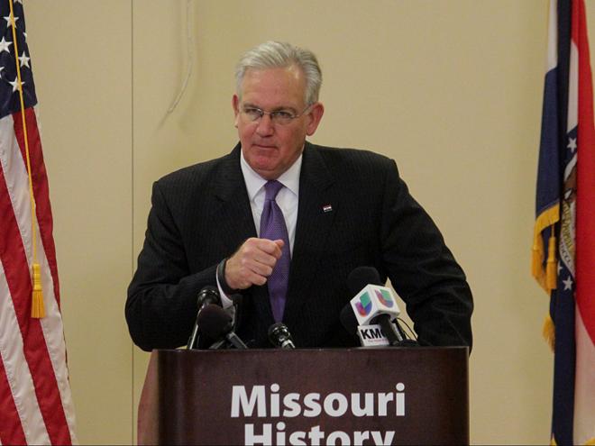 Missouri Governor Jay Nixon. - DANNY WICENTOWSKI