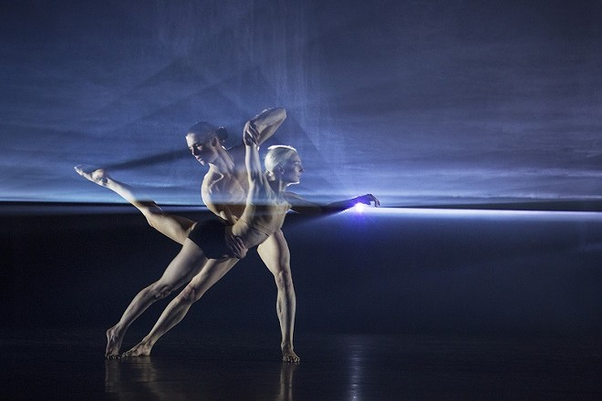 Company Wayne McGregor melds science with performance in Autobiography. - RICHARD DAVIES