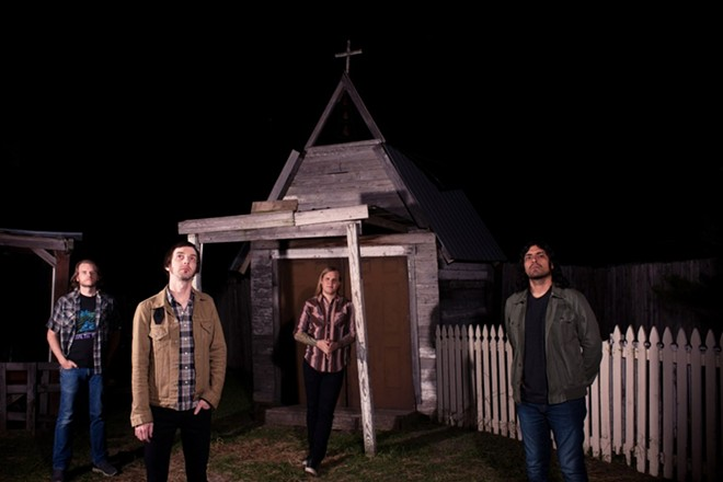 The Sword will perform at the Ready Room on Sunday, December 13. - PRESS PHOTO VIA RAZOR & TIE PUBLICITY