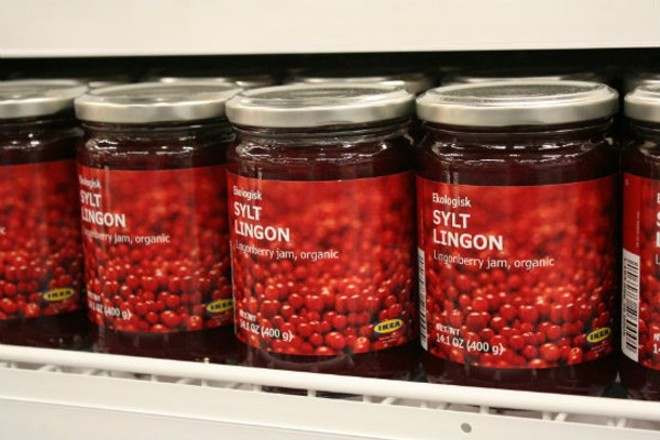 "IKEA's Sylt Lingon — how better to say ""happy holidays""? - PHOTO BY JOHNNY FUGITT"