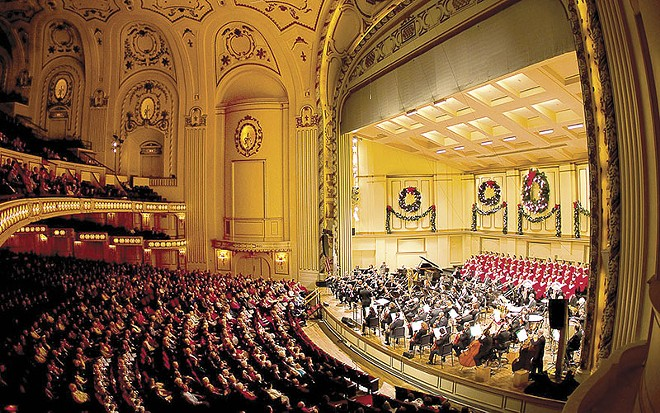 POWELL HALL | COURTESY OF THE ST. LOUIS SYMPHONY ORCHESTRA