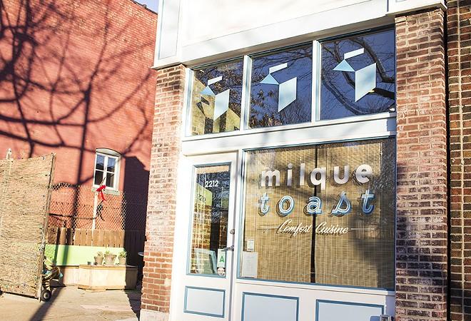 The storefront on South Jefferson Avenue. - MABEL SUEN