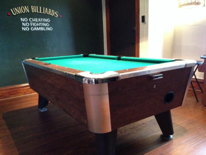 Soulards Union Barbershop Is So OldSchool Its Brand New Arts Blog - Old school pool table