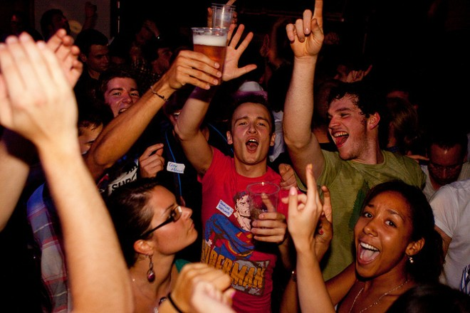 What does it take to get a New Year's party rocking? Well, a good playlist, for one thing. - PHOTO COURTESY OF FLICKR/JIRKA MATOUSEK