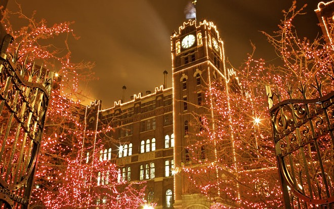 The Holiday Lights at the Anheuser-Busch Brewery — now through January 3.