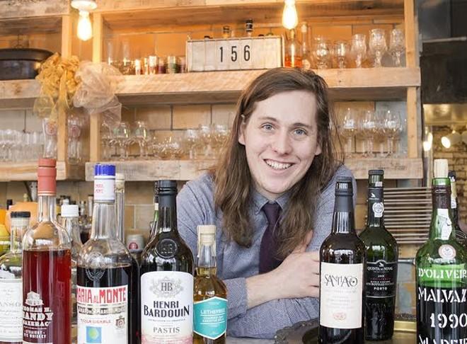 Olio's bar manager, Luc Michalski. - MABEL SUEN