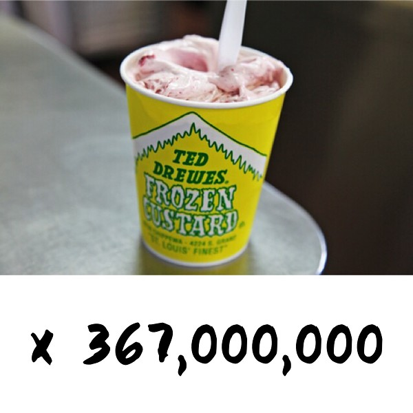 Clearly the tastier option - PHOTO OF CONCRETE FROM TEDDREWES.COM