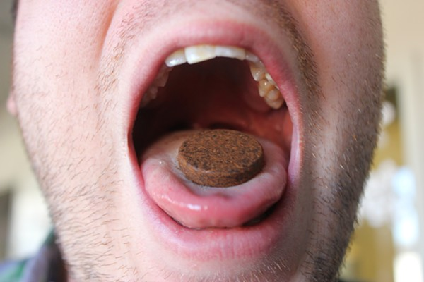 It turns out, eating coffee grounds is a bad idea. - KELLY GLUECK