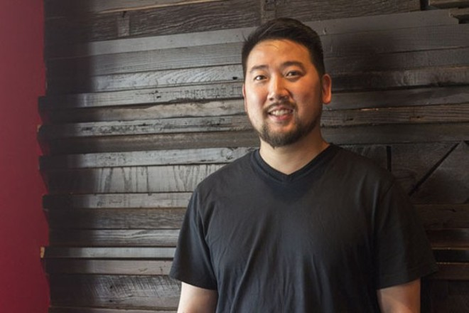 David Choi, who owns Seoul Q and Seoul Taco. - PHOTO BY MABEL SUEN