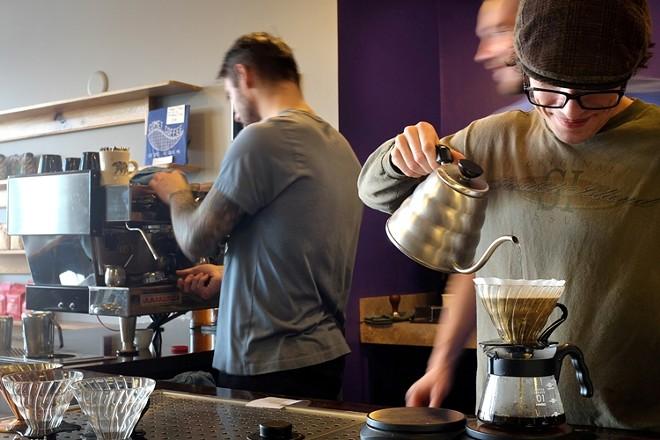 COMET COFFEE   JULES BROWN
