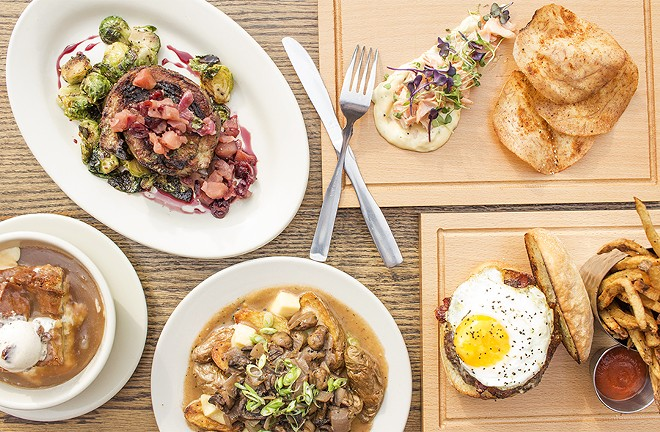 A variety of dishes at Retreat Gastropub. - MABEL SUEN