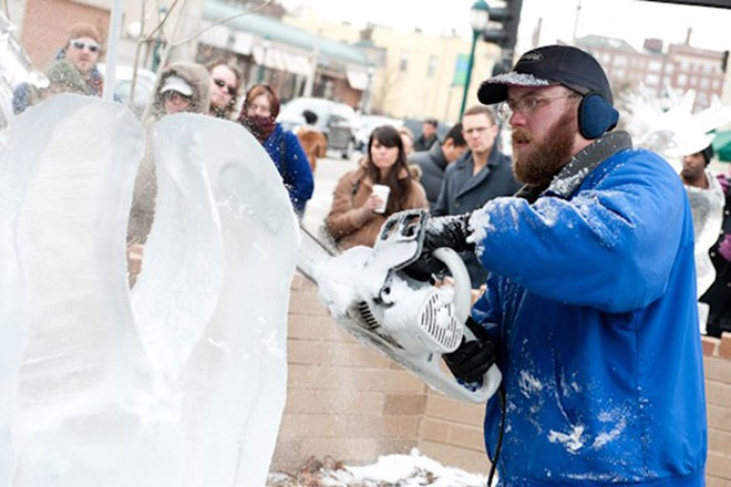 The Loop Ice Carnival ... brr! - PHOTO BY JON GITCHOFF