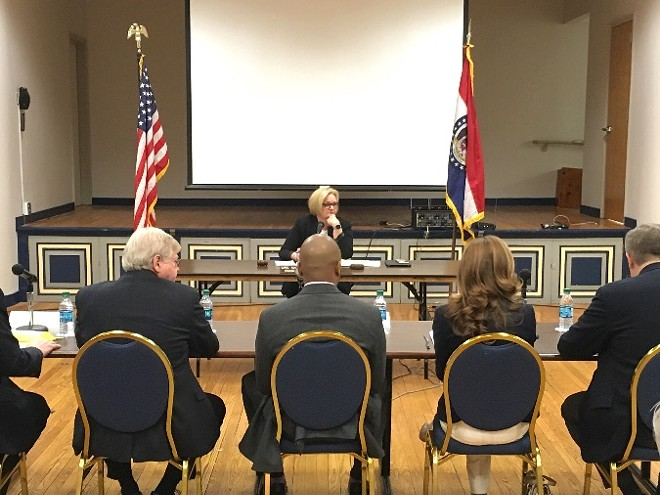 Senator Claire McCaskill visited Jeff City yesterday to call for action. - PHOTO COURTESY OF U.S. SENATOR CLAIRE MCCASKILL