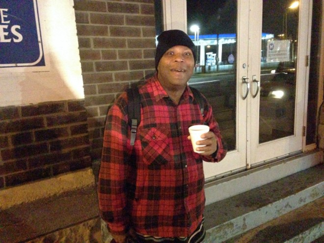 Leroy Johnson is staying at Sunshine Ministries shelter while he tries to save enough for an apartment. - PHOTO BY DOYLE MURPHY