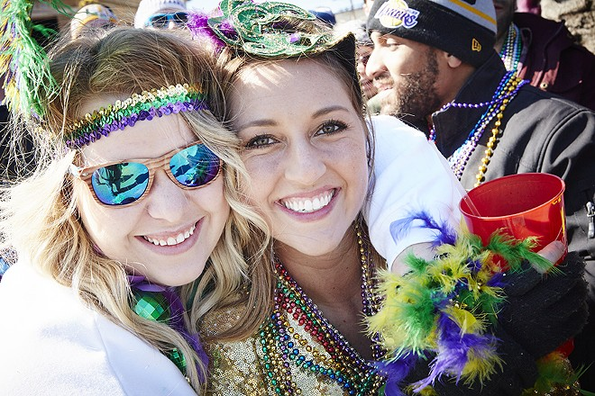 With free WiFi and a ride home, what's not to like about Mardi Gras? - STEVE TRUESDELL