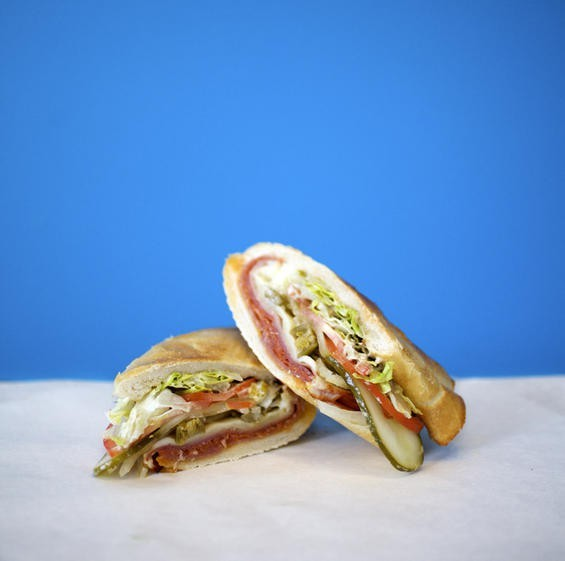A Snarf's Italian sandwich. - PHOTO BY JENNIFER SILVERBERG
