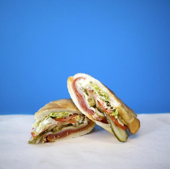 A Snarf's Italian sandwich. - PHOTO BY JENNIFER SILVERBERG