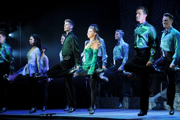 A scene from Riverdance - © RIVERDANCE. PHOTOGRAPHY CREDIT: JACK-HARTIN