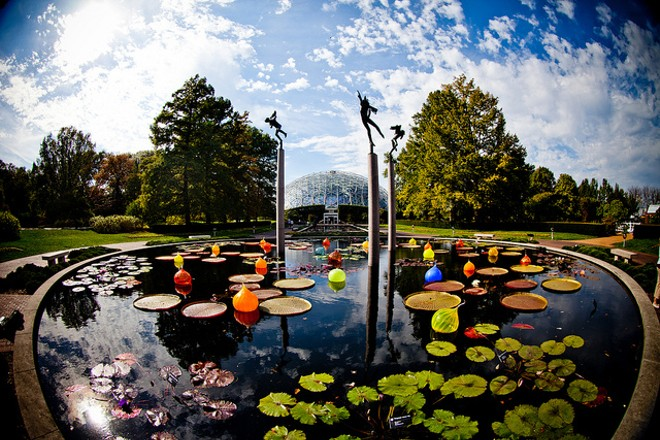 St. Louis — and the Missouri Botanical Garden — are for lovers. - PHOTO COURTESY OF FLICKR/THOMAS HAWK