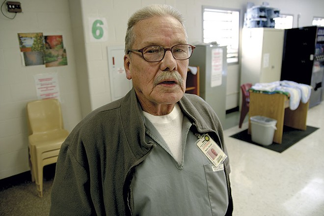 "Donald ""Doc"" Nash, now a 73-year-old inmate at the Eastern Reception, Diagnostic and Correctional Center in Bonne Terre, Missouri - PHOTO BY NICHOLAS PHILLIPS"