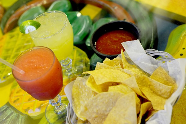 El Maguey's margarita. - PHOTO BY KELLY GLUECK