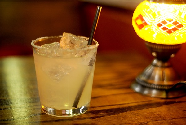The Royale's margarita — a surprising, but serious, choice. - PHOTO BY KELLY GLUECK