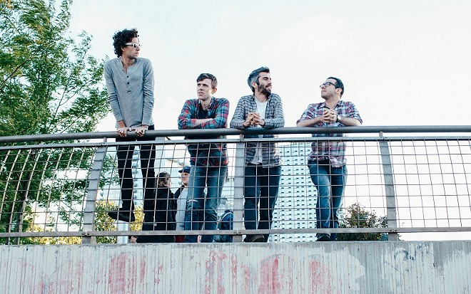 Tokyo Police Club will perform at Old Rock House on Wednesday, May 4. - PRESS PHOTO VIA BILLIONS BOOKING