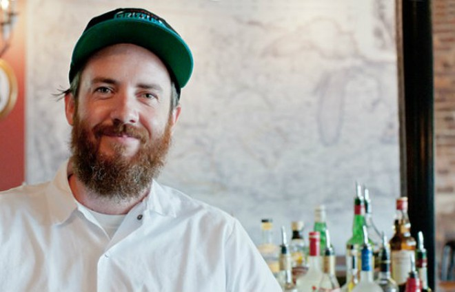 Scott Davis left his role as chef de cuisine at Three Flags Tavern this past weekend. - MABEL SUEN
