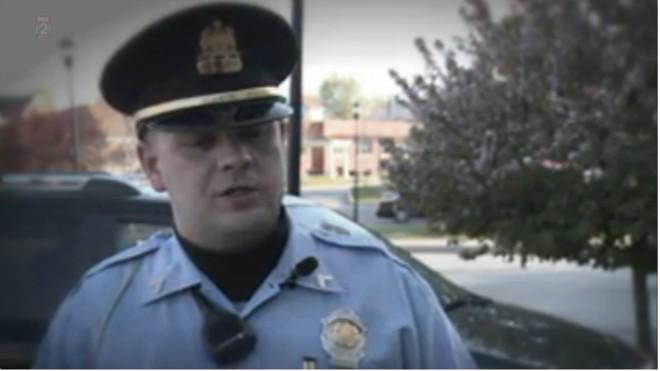 Former Pine Lawn Lt. Steven Blakeney - IMAGE VIA FOX 2