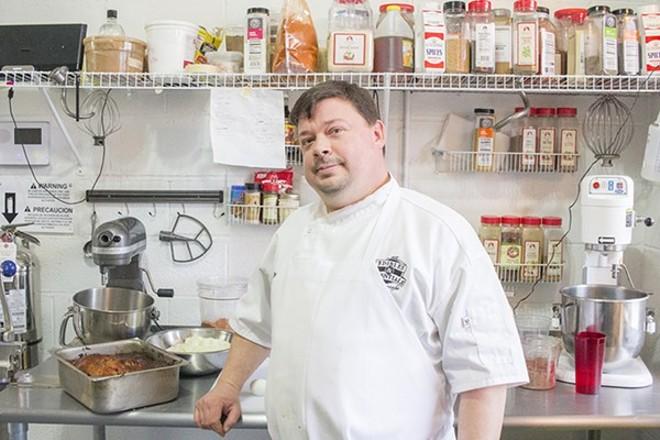 Chef Matt Borchardt of Edibles & Essentials. - MABEL SUEN