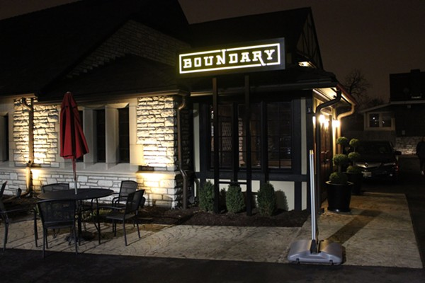 Boundary is located at the Cheshire Hotel. - PHOTO BY LAUREN MILFORD