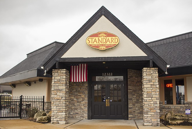 Standard Brewing Company is located in Maryland Heights. - PHOTO BY MABEL SUEN