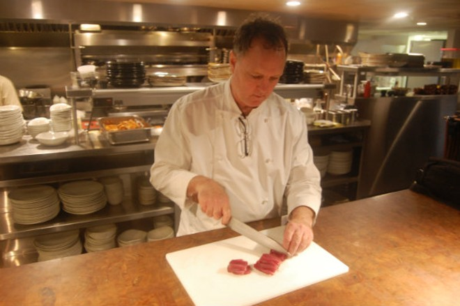 Chef Rex Hale of Boundary. - HARLAN MCCARTHY