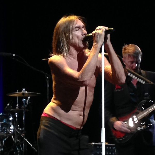 Iggy Pop at Moody Theater - DANA PLONKA