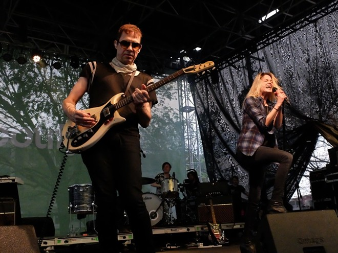 The Kills at Spotify House - DANA PLONKA