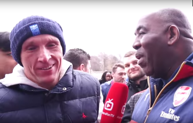This British football fan? Not a fan. - IMAGE VIA YOUTUBE