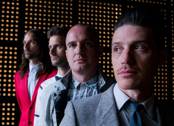 Mutemath will perform at the Ready Room on Tuesday, April 5. - PRESS PHOTO