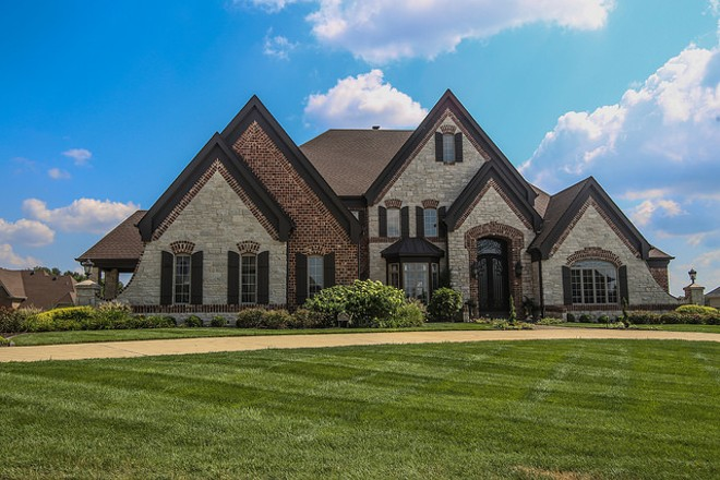 Town and Country: McMansions galore — but not a lick of crime. - PHOTO COURTESY OF FLICKR/PAUL SABLEMAN