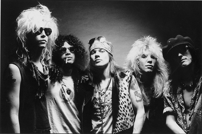 Guns N' Roses - PRESS PHOTO FROM OLD TIMEY TIMES