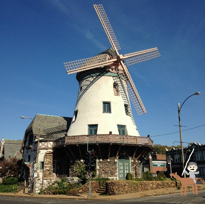 We'll tilt at this windmill! - PHOTO ILLUSTRATION BY HIERONYMOUS DOUCHE