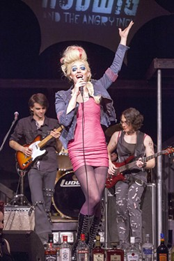 """Actor Michael Baird as Hedwig: """"He really is a beautiful boy."""" - PHOTO BY JOHN LAMB"""